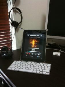 iPadでlast.fm MobileScrobblerを動かす
