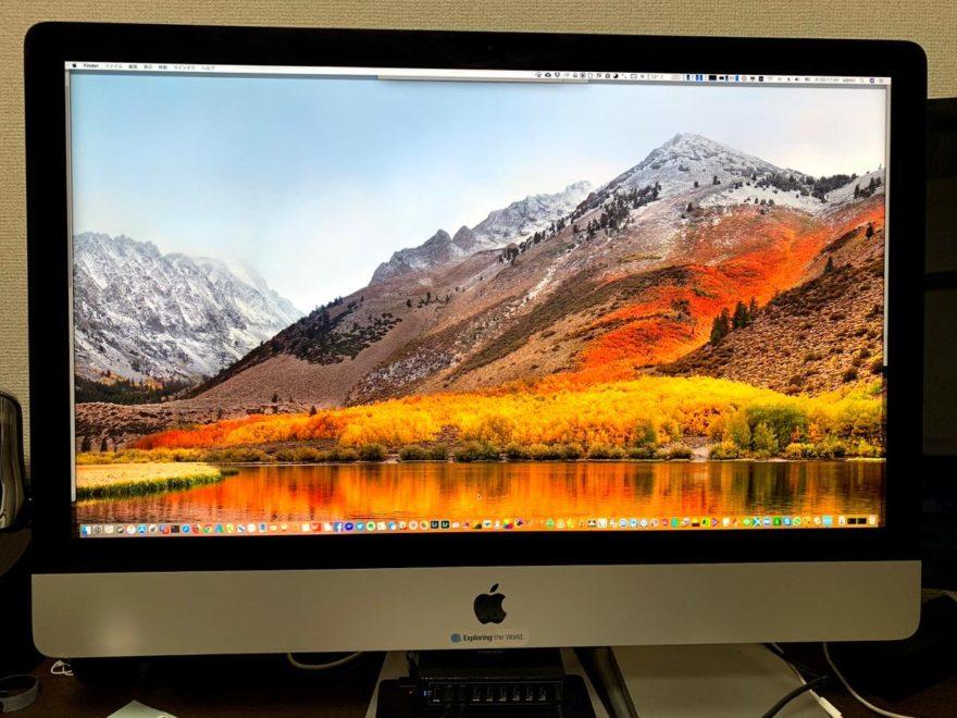 27インチiMac Retina 5Kディスプレイモデル(2015年式)